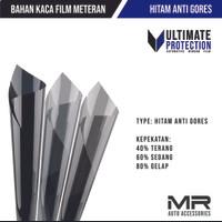 Kaca Film Hitam Anti Gores / Riben untuk Mobil dan Gedung Meteran