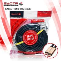 EYOTA KABEL HDMI 15 METER 4K2K VERSI 2.0 HIGH SPEED