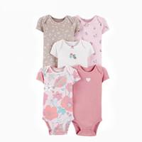 Baby Bodysuit 5 in 1 Motif Flawless - 3-6 Bulan
