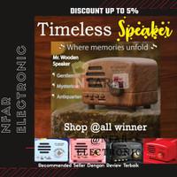 Speaker Bluetooth Retro VINTAGE Classic Speaker Klasik Model Radio