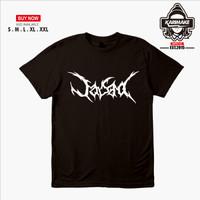 Kaos Baju Band Metal Jasad Kaos Musik - Karimake