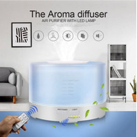 Aroma Diffuser Ultrasonic 500ml Air Humidifier Essential Oil Color LED