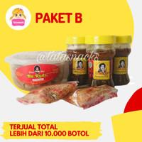 Paket Sambal Bu Rudy B : 1 udang + 3 bawang