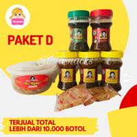 Paket Sambal Bu Rudy D : 1 udang + 3 bawang + 1 terasi + 1 ijo