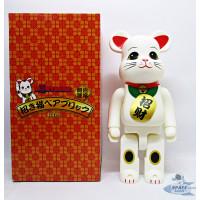 Pajangan Figure Mainan BearBrick BE@RBRICK Kucing Hoki 400%