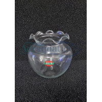 (Hanya GO-JEK/GRAB) AQUARIUM DLX TIGER 2.5 LTR BULAT TOPLES FISH BOWL
