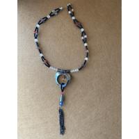 Choker Necklace Love Tassel
