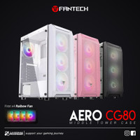 Fantech AERO CG80 Tempered Glass Mid Tower - Gaming Case