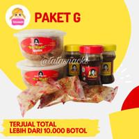Paket Sambal Bu Rudy G : 2 udang + 2 bawang + 1 terasi/ijo
