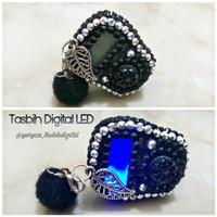 Tasbih digital Swarovski LED