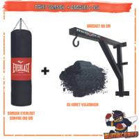 Paket Samsak Isi 100cm Plus Gantungan 80cm - Sansak Tinju Muaythai MMA