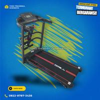Treadmill elektrik motor 2hp merk total gym tipe tl618