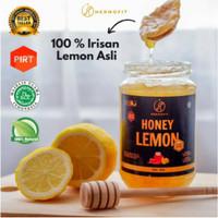 Hermofit Original Honey Lemon Asli Madu Diet Detox Kualitas Premium