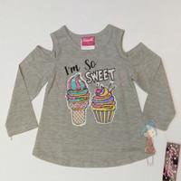 2y Baju Kaos Tshirt Sabrina Graziella Ice Cream Cupcake Anak Perempuan