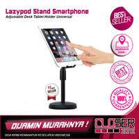 Lazypod Stand Smartphone Adjustable Desk Tablet Holder Universal