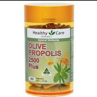 Healthy Care General Wellbeing Olive Propolis 2500 Plus Australia -180