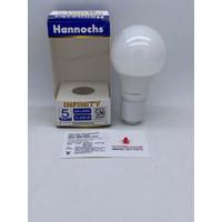 LAMPU LED HANNOCHS INFINITY 5W 5 W 5WATT 5 WATT
