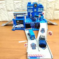 Mainan Anak Parking Lot Police Parking lot Polisi