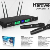 Mic Wireless Concert-1 Microphone terbaik Original