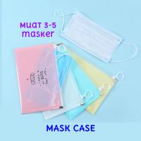 Face Mask Case Hygienis Waterproof Kotak Penyimpanan Masker Storage