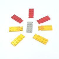 Lego Part Hinge Plate Male 2 x 4 Mixed Colour Original
