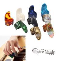 Pick Gitar Jari Kuku / Celluloid Guitar Finger Pick - 1Pcs