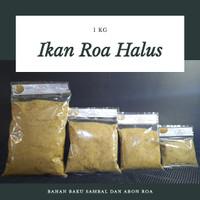 Grosir Ikan Roa Halus || Bahan Baku untuk Sambal Roa || Timbangan 1 Kg