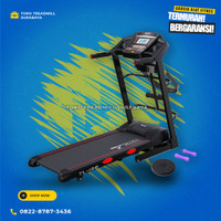 Treadmill TL138 motor 2hp autoincline merk total|alat fitness gym