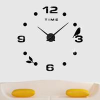 Jam Dinding DIY 80-130cm Diameter