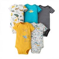 Baby Bodysuit 5 in 1 Motif Dino - 3-6 Bulan