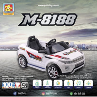 Mainan mobil aki anak range rover evoque PMB M-8188 M8188 M 8188