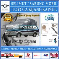 Selimut Sarung Body Cover Mobil kijang kapsul kijang lama pengait ban