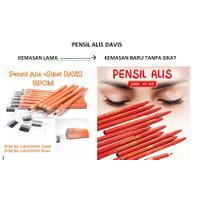 DAVIS PENSIL ALIS + SIKAT - EYEBROW PENCIL DAVIS - PENSIL ALIS DAVIS