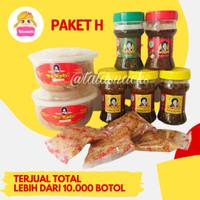 Paket Sambal Bu Rudy H : 2 udang + 3 bawang + 1 terasi + 1 ijo