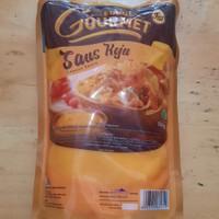 Saus keju euro gourmet cheese sauce by cimory 500gr