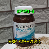 blackmores omega triple super strength fish oil