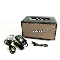 Speaker Multimedia DAT QQ-03 Bluetooth Music Box Kayu Model Marshall