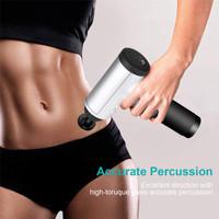 TAIHO Alat Pijat Percussion Deep Tissue Fascia Muscle Massage Gun - Perak