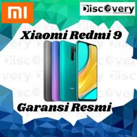 Xiaomi Redmi 9 3/32 & 4/64 Garansi Resmi TAM No Repack BNIB - RAM3GB ROM32GB
