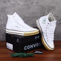 Sepatu Converse X Dr Woo Chuck 70s Hi White Putih Absin Green Egret