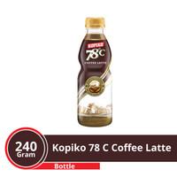 KOPIKO 78'C Rasa Coffe Latte 240 ml