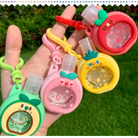 Gantungan Hand Sanitizer Gel 01 Bisa Refill Sarung Silikon Carabiner