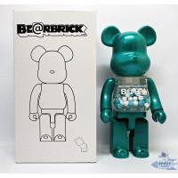 Pajangan Figure Mainan BearBrick BE@RBRICK My First Baby Hijau 400%