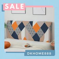 sarung sandaran tempat tidur / cover bed headbord MOTIF