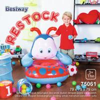SOFA ANGIN ANAK 75061 BESTWAY LADYBUG /BABY CHAIR