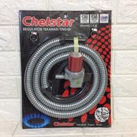 Selang Paket Regulator Chelstar HP MTP1904 Tekanan Tinggi
