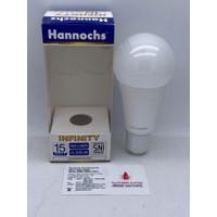 LAMPU LED BULB HANNOCHS INFINITY 15W 15 W 15WATT 15 WATT