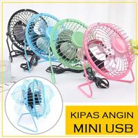 USB MINI FAN KIPAS ANGIN BESI KECIL KIPAS ANGIN USB Mini Fan 5 / 5''