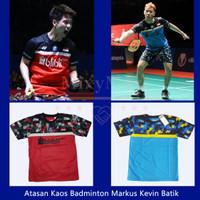 Kaos Badminton Minion Markus Kevin Batik