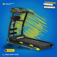 Treadmill elektrik TL133 autoincline motor 2hp merk total|alat fitness